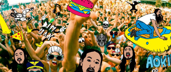 AOKI PREPARES TO THROW CAKES, PAINT, BEATS AND MORE @ LIFE IN COLOR, TACOMA DOME