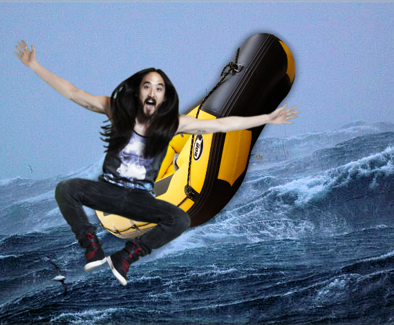STEVE AOKI HERO OF ELECTRIC ZOO 2014 AS HIS RAFT SAVES MULTIPLE SOULS